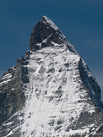 Close-up of Matterhorn peak