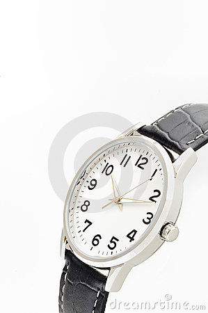 Close-up of men s watch