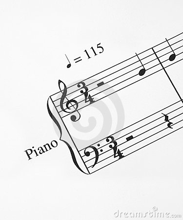 Close-up of music note