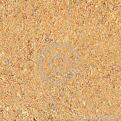 Close-up natural sawdust texture