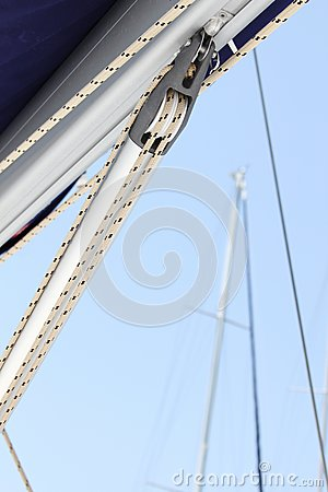 Free Close-up Of A Fasten Rope Stock Photo - 26910100