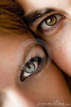 Free Close-up Of A Young Couple Stock Photo - 22505220