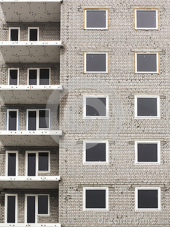 Free Close Up Of Abandoned Apartments Building Under Construction Abstract Royalty Free Stock Photo - 30404235