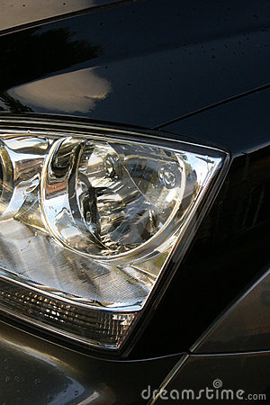 Free Close Up Of Car Frontview Stock Photography - 484462
