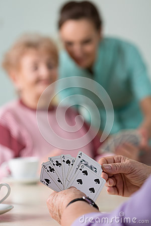 Free Close-up Of Card Game Royalty Free Stock Image - 47755746