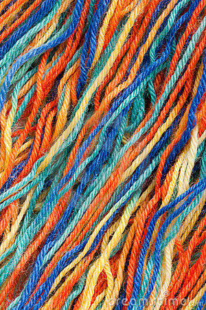 Free Close-up Of Colorful Threads Royalty Free Stock Photos - 19134298