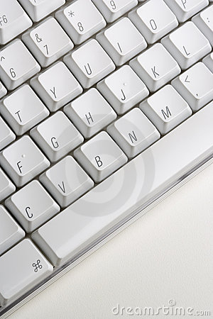 Free Close Up Of Computer Keyboard Stock Photo - 12976850