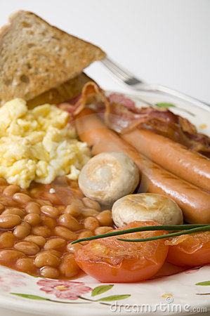 Free Close Up Of English Breakfast Stock Photo - 9000800