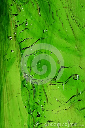 Free Close Up Of Green Stained Glass. Royalty Free Stock Images - 103135769