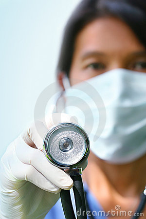 Free Close-up Of Nurse Stock Image - 2886561