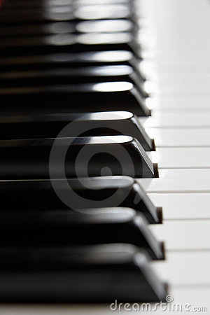 Free Close Up Of Piano Keys Stock Photography - 19452132