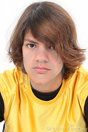Free Close Up Of Teen Boy Stock Photography - 222622