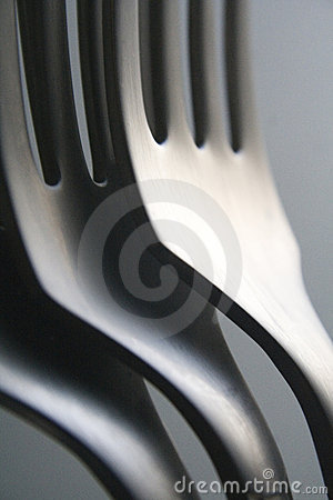 Free Close Up Of Three Forks Stock Photography - 7248322