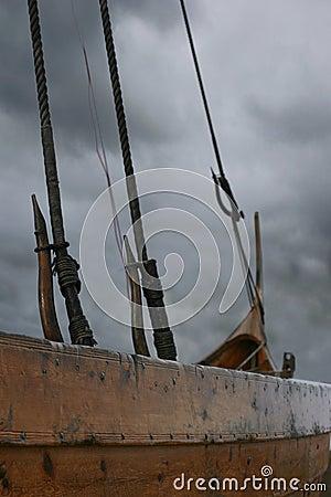 Free Close Up Of Viking Ship Stock Photos - 577183