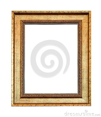 Free Close Up Old Vintage Picture Frame Stock Photos - 105966313