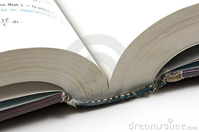 Close up on an Open Book