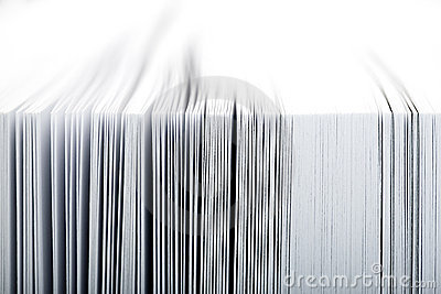 Close-up of pages