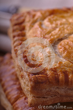 Pasty Close up