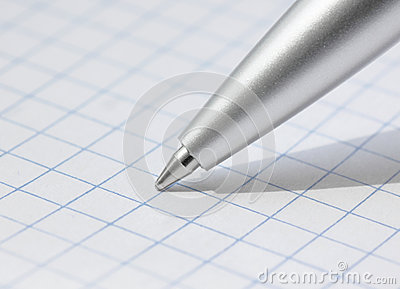 Close up of pen