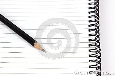 Pencil over paper
