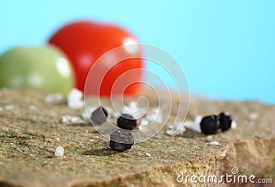 Close up of peppercorn