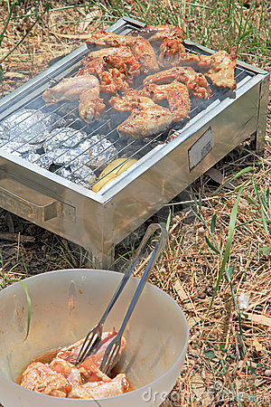 Close up photo of cooking meet