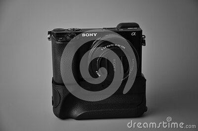 Close Up Photography Of Black Sony Camera Free Public Domain Cc0 Image