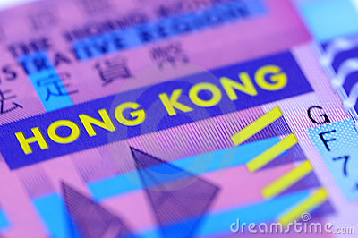 Close-up Picture Hong Kong Dollar Stock Photography - Image: 9680402