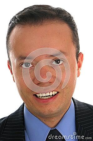 Close-up Portrait of a Business Man