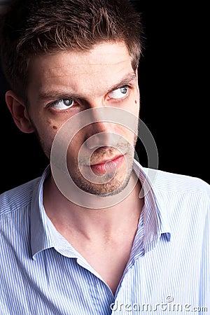 Close-up portrait of man 2