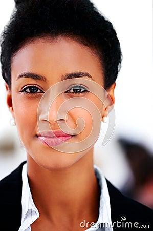 Close-up portrait of a proud student