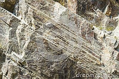 Close up of a rock texture