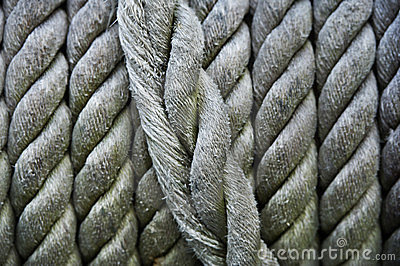 Close up  of   rope