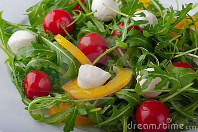 Close-up of a salad