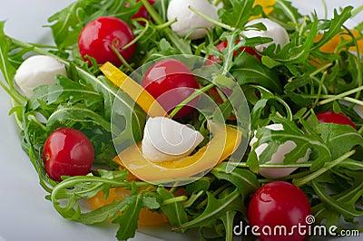 Close-up of a salad