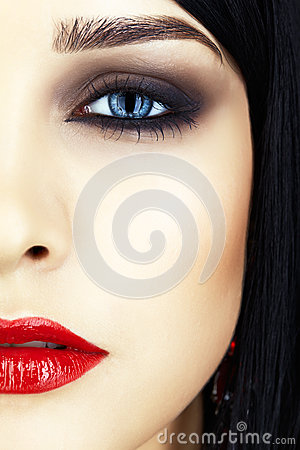 Free Close-up Shot Of Woman Face Stock Images - 37382034