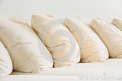Close up of Soft cushion