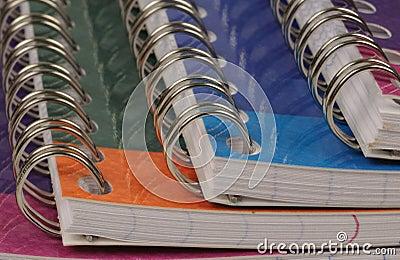 Spiral bound exercise book