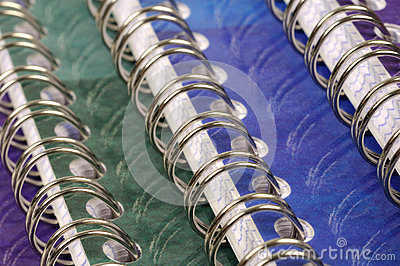 Spiral bound exercise book
