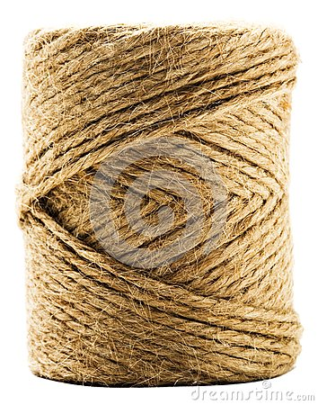 Close-up of spool of twine
