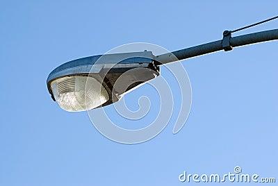 Close-up Street Lamp