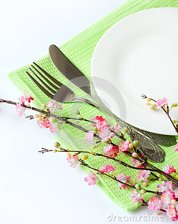 Close up of a tableware