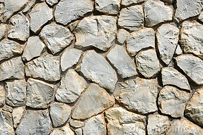 Close up texture of stone wall