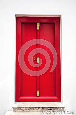 Close up Thai  doors