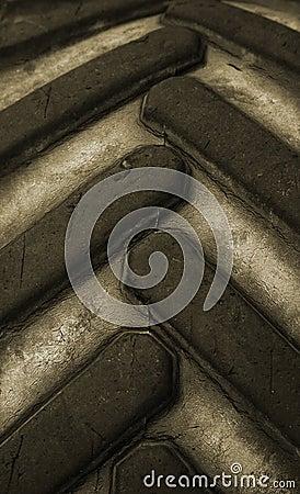 Close up tire
