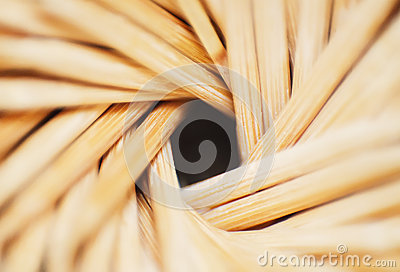 Close-up toothpicks