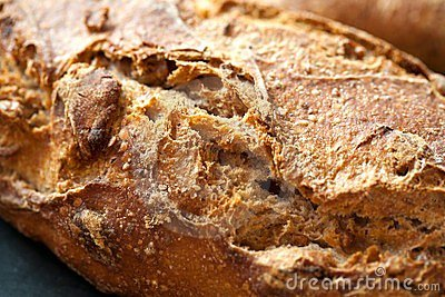 Close up of traditional bread.