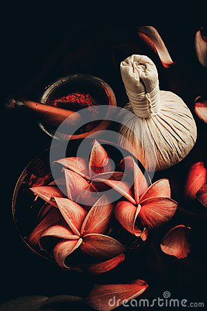 Free Close Up View Of Spa Theme Objects Royalty Free Stock Photo - 56775265