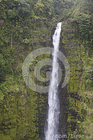 Close-up of Waimoku Falls, Maui, Hawaii