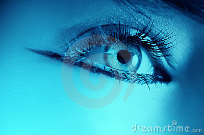 Close up of woman eye